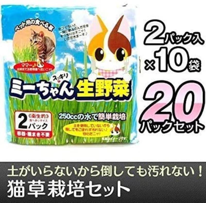 イデシギョー,ミーちゃん スッキリ生野菜