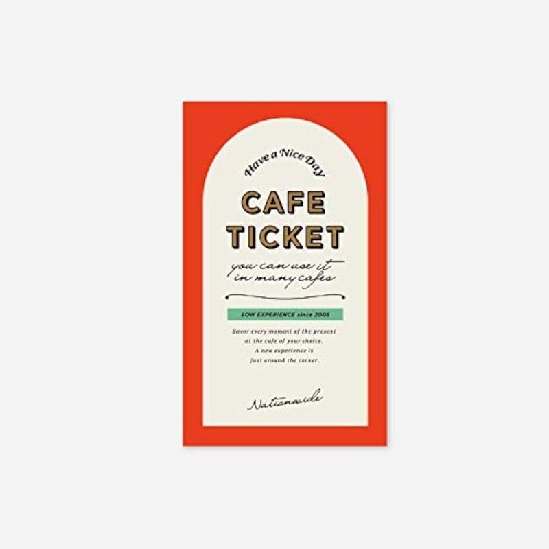 SOW EXPERIENCE,カフェチケット全国版