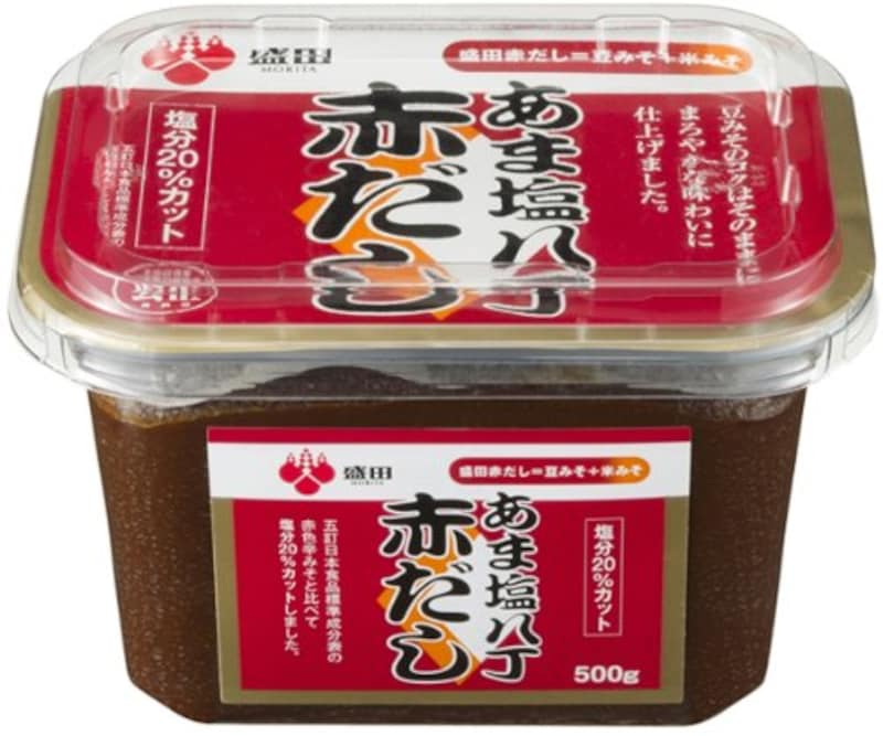 盛田,あま塩八丁赤だし ,morita-dashi500