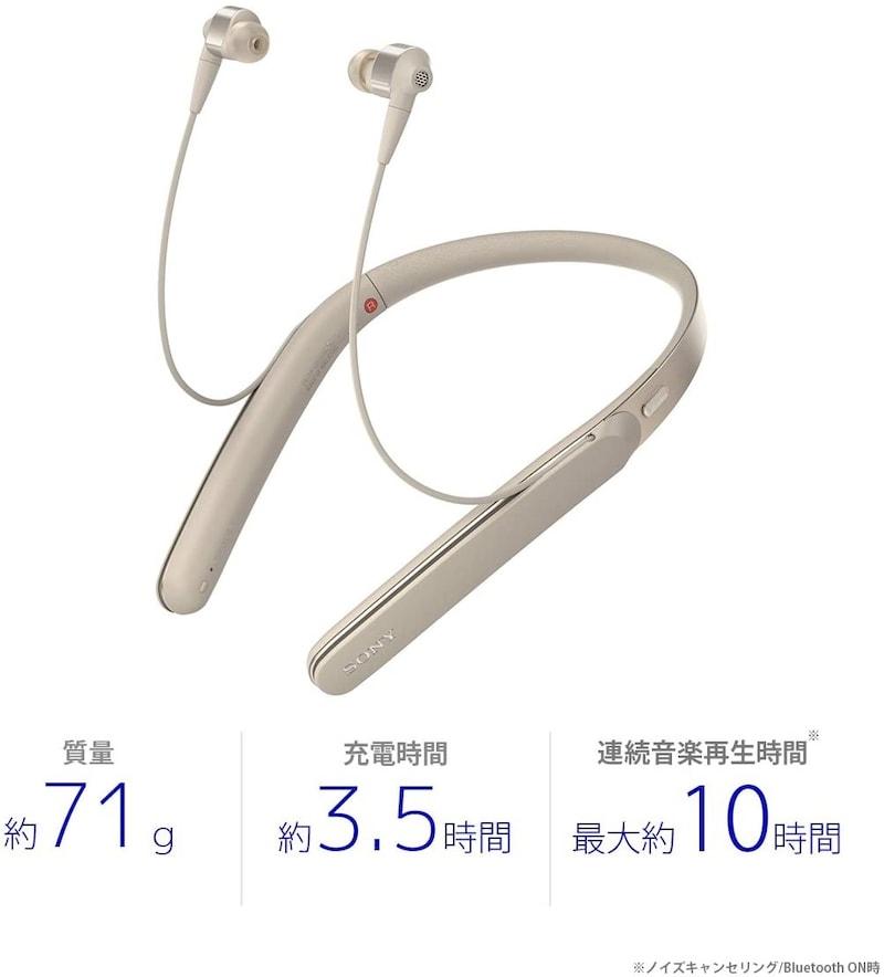 SONY(ソニー),ワイヤレスノイズキャンセリングステレオヘッドセット,WI-1000X