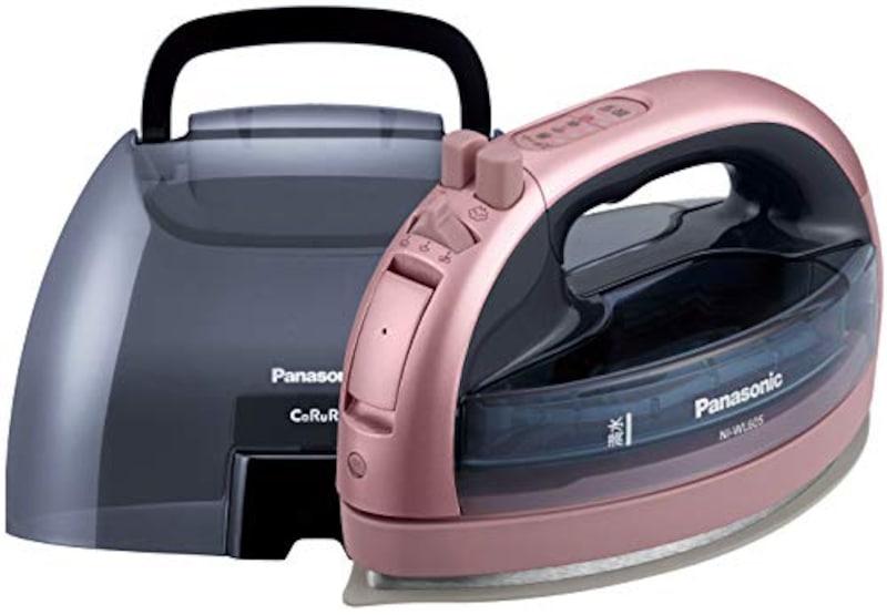 Panasonic(パナソニック),コードレススチームアイロン,NI-WL605-P(ni-wl605-p)
