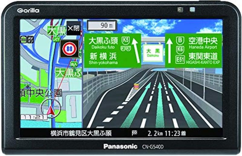 Panasonic(パナソニック),ポータブルカーナビ 5インチ ゴリラ CN-G540D,CN-G540
