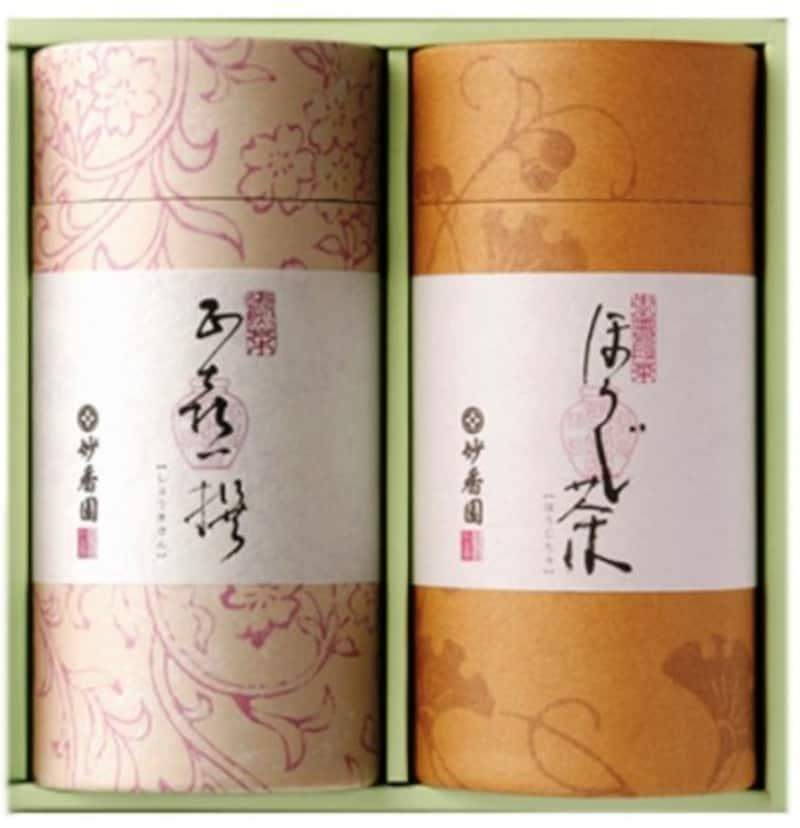 妙香園,お茶ギフト No.018 2種入