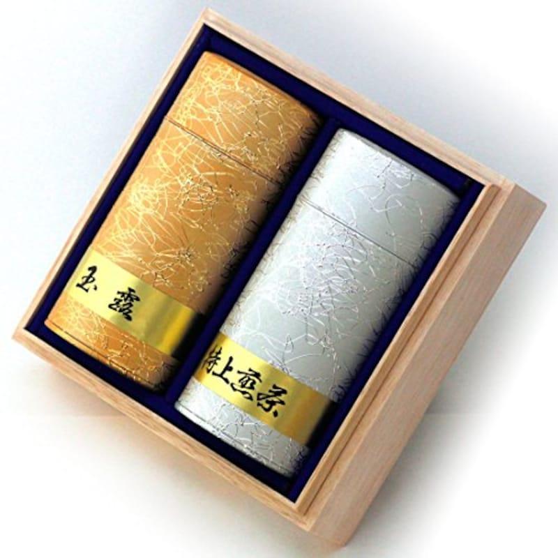 京都利休園,高級玉露・特上煎茶詰合せ,SEN-SG-1002