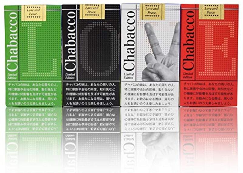 Chabacco,4種セット(Web限定パッケージ)