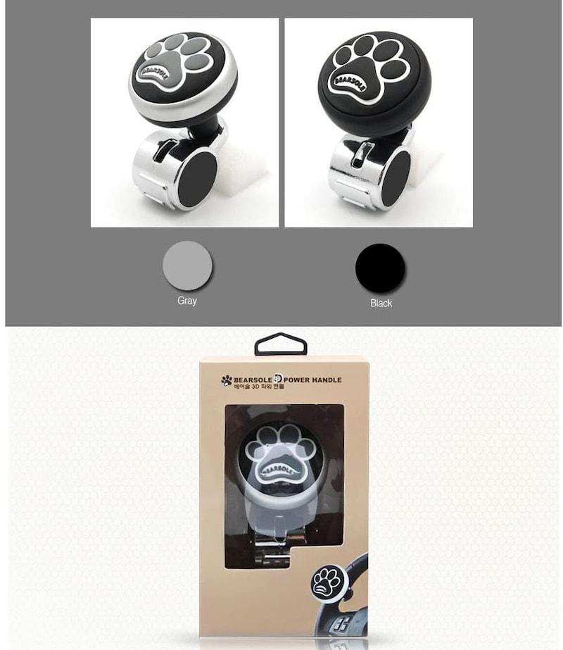 ByKim,3D立体シリコン ハンドル スピナー,PowerHandel#7792592