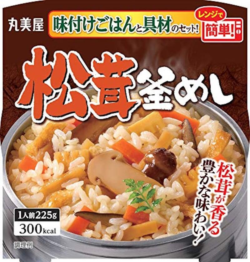 丸美屋食品工業,松茸釜めし 味付けごはん付き