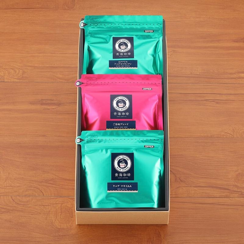 青海珈琲,レギュラーコーヒーセット,ARC-30