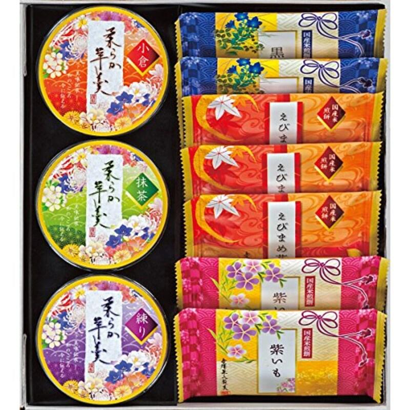 金沢兼六製菓,兼六の彩(せんべい・羊羹)