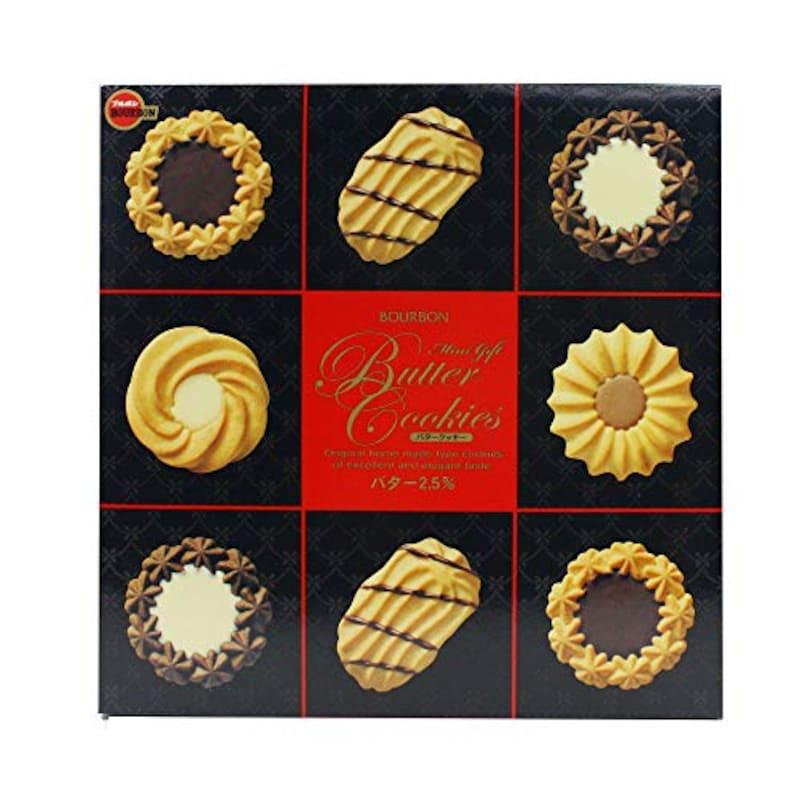 ブルボン,ミニギフトバタークッキー缶