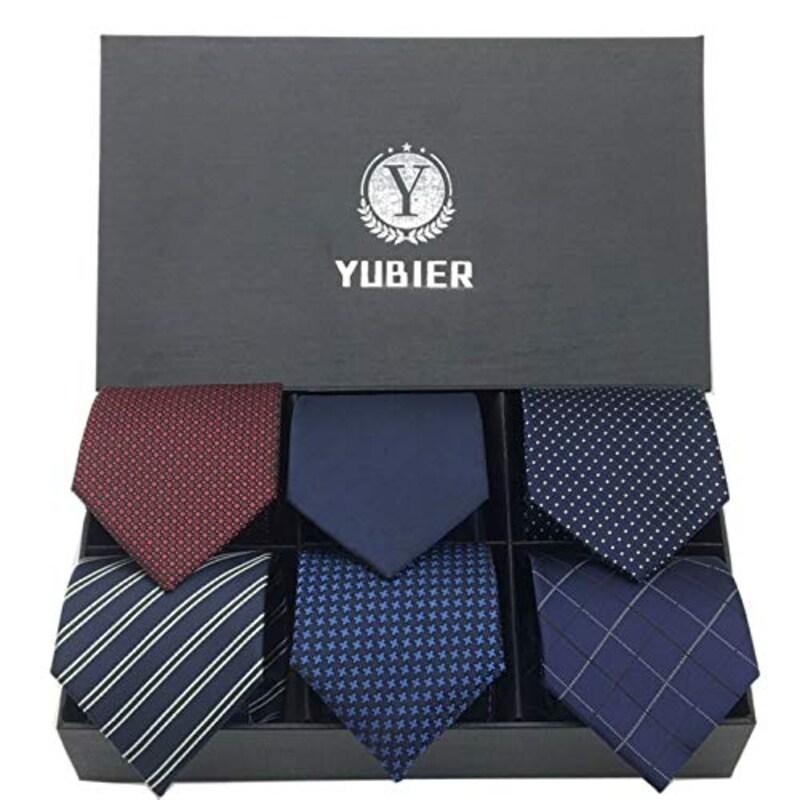 Yubier(ユーピア),ネクタイ 6本セット