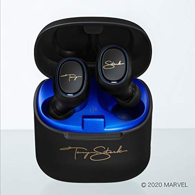 Audio Technica(オーディオテクニカ),完全ワイヤレスイヤホン   Tony Starkモデル
