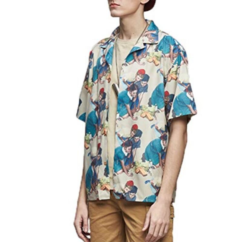 FUSHI&MON,アロハシャツ
