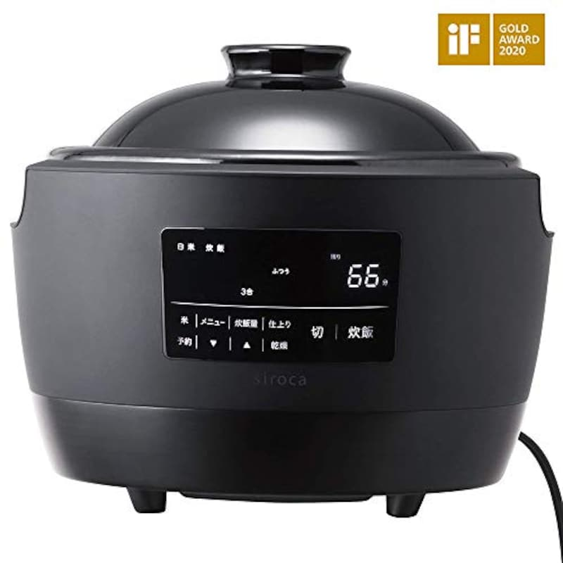 siroca(シロカ),全自動炊飯土鍋 かまどさん電気,SR-E111