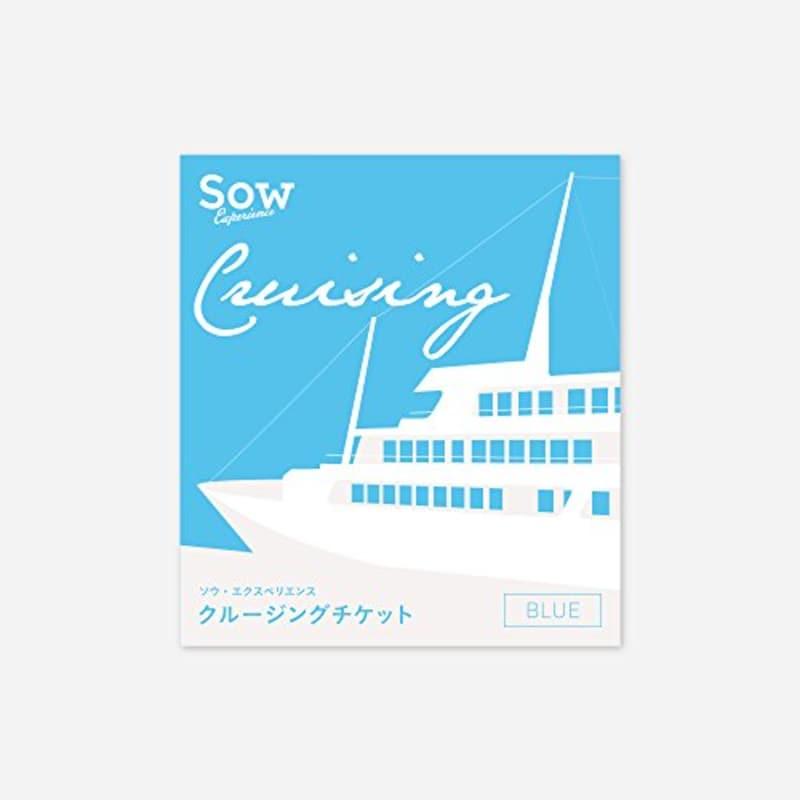 SOW EXPERIENCE(ソウ・エクスペリエンス),体験型カタログギフト クルージングチケットBLUE