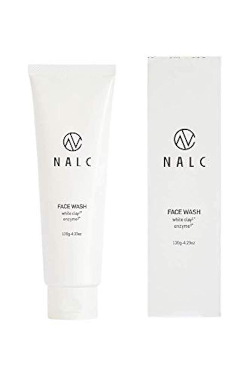NALC(ナルク),ホワイトクレイ酵素洗顔フォーム