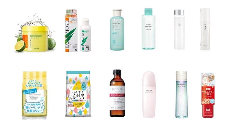 拭き取り化粧水のおすすめ人気ランキング38選|ニキビ跡や毛穴ケアに効果的な使い方は?アルコールフリーやメンズ向けにも注目!