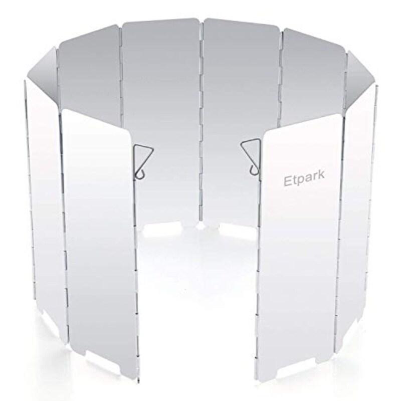 Etpark,折りたたみ式ウインドスクリーン