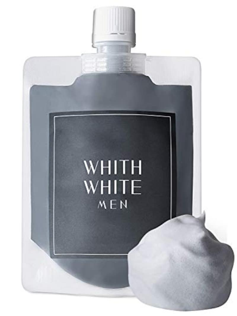 WHITH WHITE(フィス ホワイト),メンズ 泥洗顔