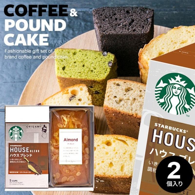 スターバックス コーヒー&クリエグリエ パウンドケーキ セット