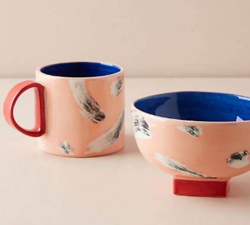 Anthropologie,Freeform Mug&Bowl,D45397544