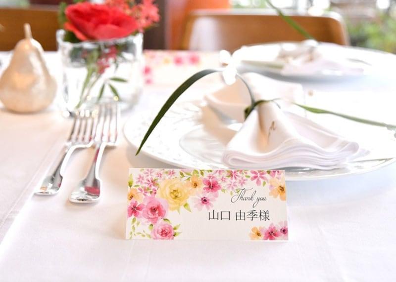 【2020】結婚式のおしゃれな席札おすすめランキング19選|かわいい&安いものまで◎