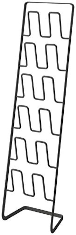 山崎実業,スリッパラック ブラック,4703