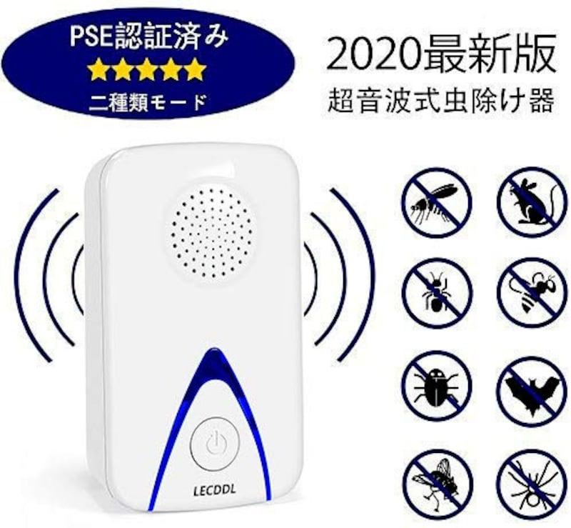 LECDDL,ネズミ撃退器 超音波式