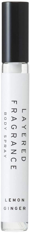 LAYERED FRAGRANCE(レイヤードフレグランス),ボディスプレー レモンジンジャー 10ml
