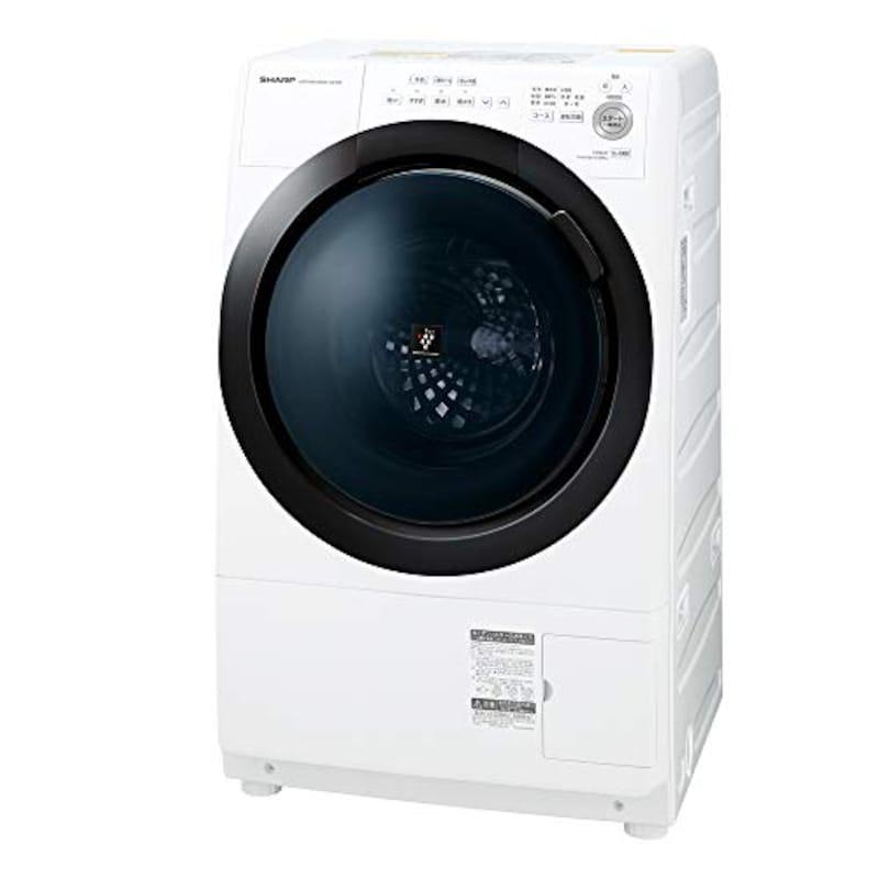 シャープ(SHARP),ドラム式 洗濯乾燥機,ES-S7E-WL
