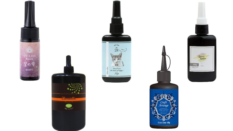 UVレジン液おすすめランキング21選|透明で綺麗に仕上がるのは?大容量や高コスパまで紹介!