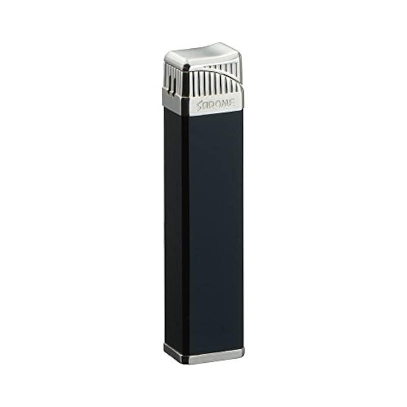 SAROME(サロメ), 電子式ガスライター ブラック,SK164-06