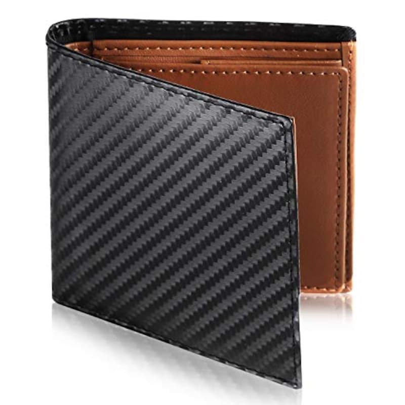 Le sourire(ルスリール),薄い二つ折り財布