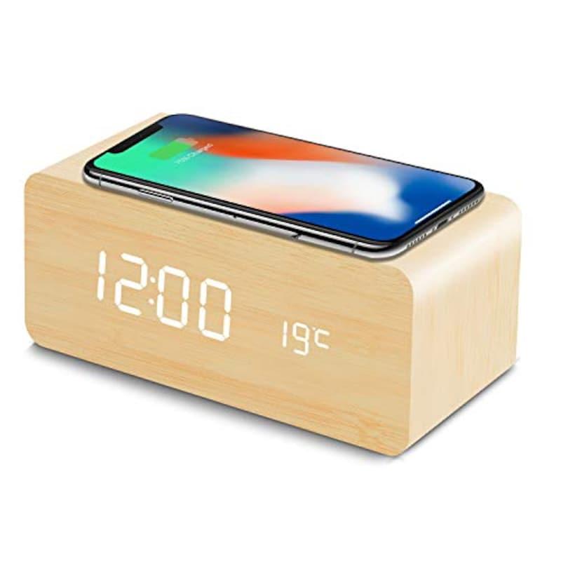 Fomobest,Qi充電対応 置時計