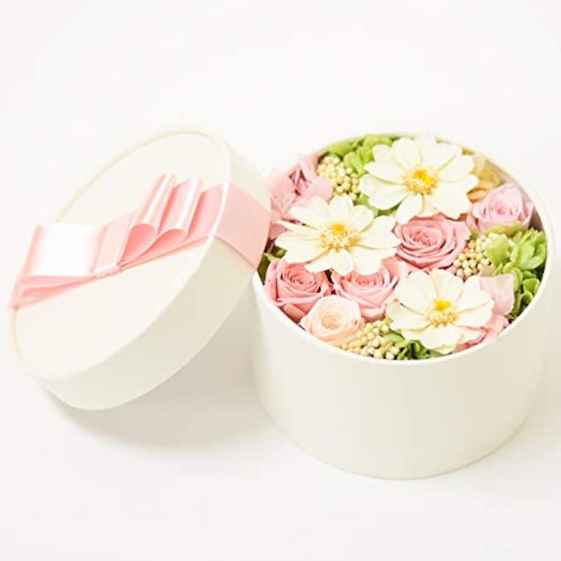 Lulu's(ルルズ),プリザーブドフラワー フラワーボックス 〜お花畑のように〜
