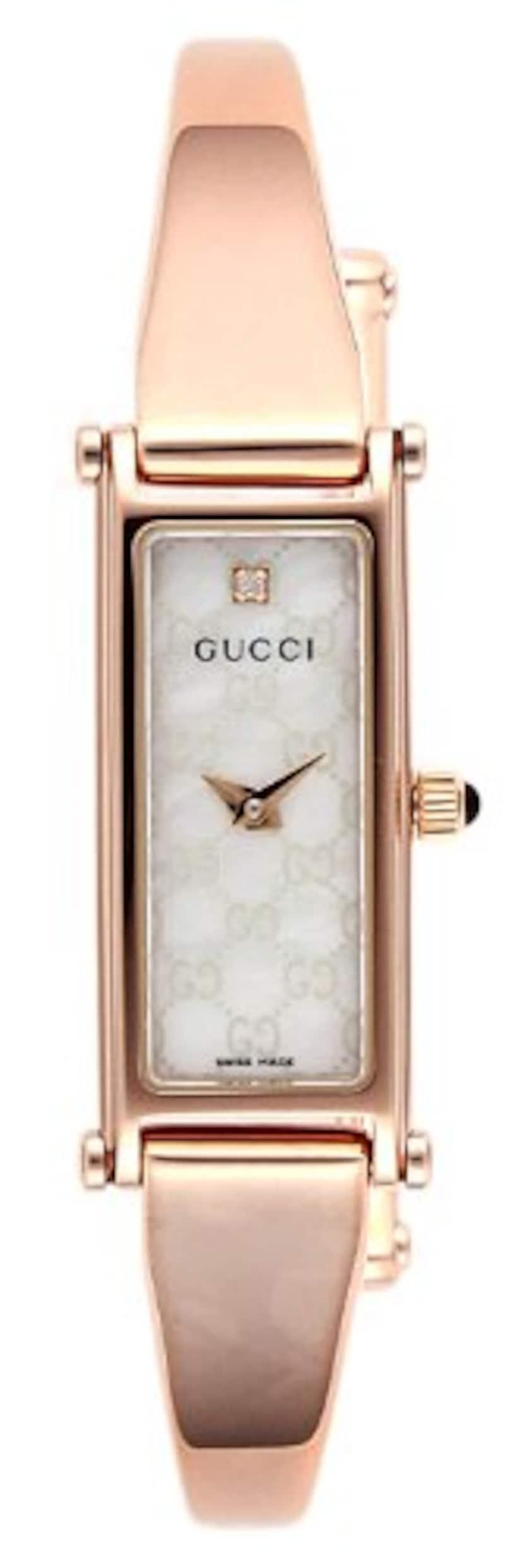 GUCCI(グッチ),腕時計 1500 ピンクゴールド,YA015560