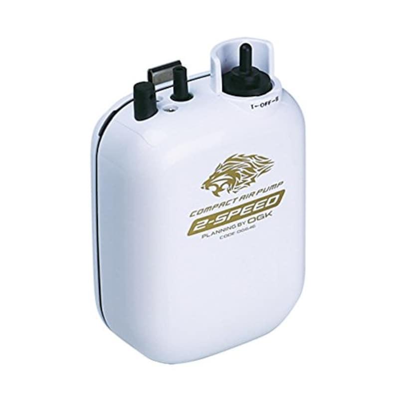 OGK(オージーケー),コンパクトエアーポンプ 2スピード 乾電池式,OG646