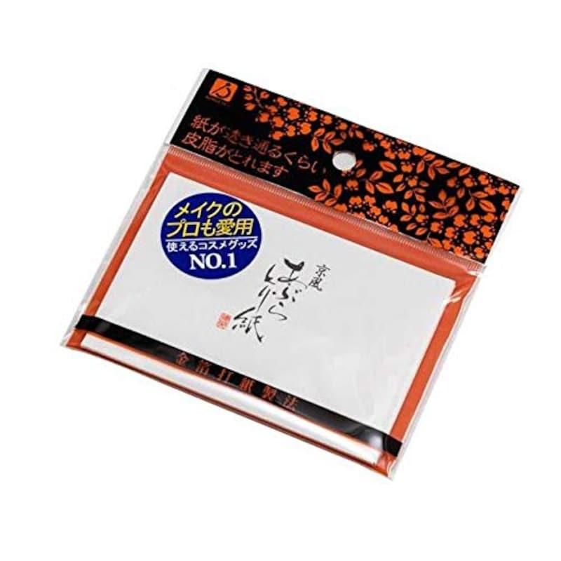徳安|金箔打紙製法,京風 あぶらとり紙
