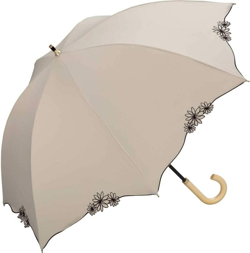 Wpc.(ワールドパーティー),遮光バードケージリムフラワー  日傘 長傘