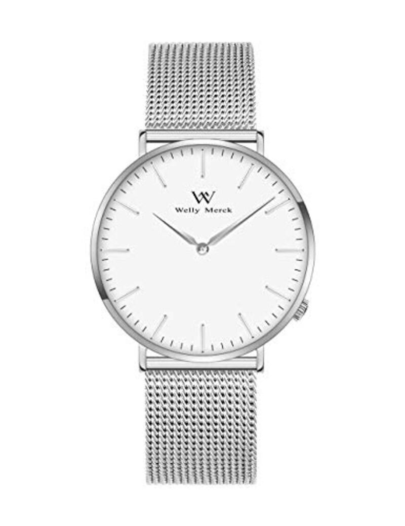 WELLY MERCK,腕時計 メンズ 超薄型,M-CIMI