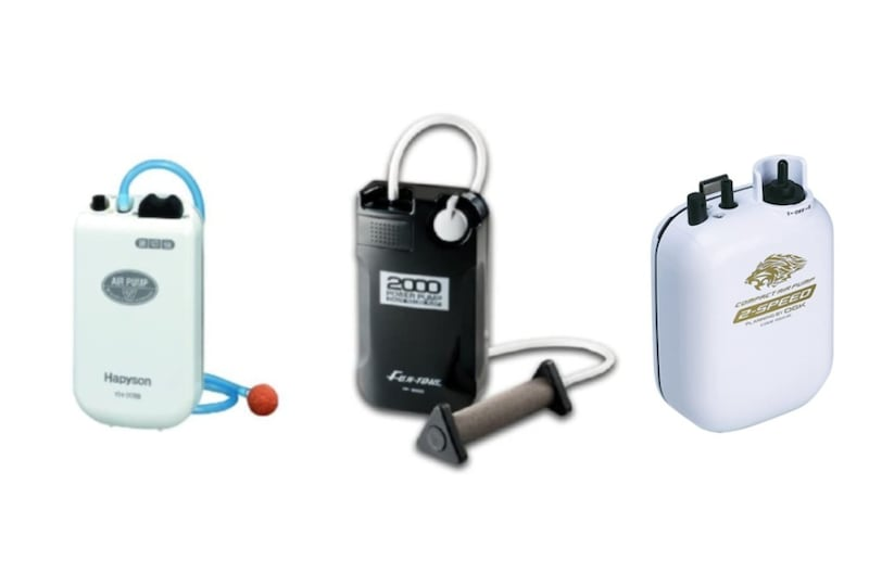 釣り用エアーポンプおすすめランキング9選|防水性や送風量を比較!便利なUSB給電式も紹介