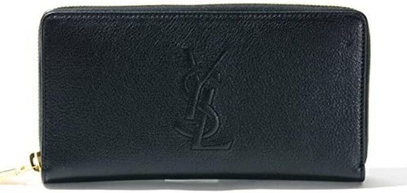 SAINT LAURENT(サンローラン),長財布 Round Zip Leather Wallet
