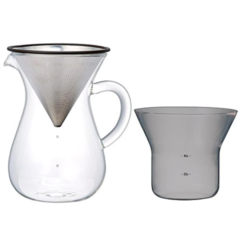KINTO(キントー),SLOW COFFEE STYLE コーヒーカラフェセット 4cups ステンレス