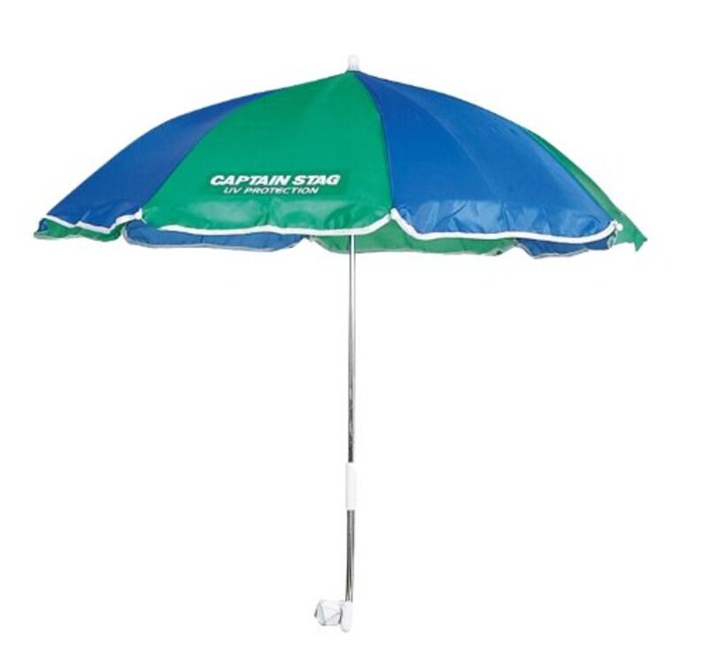 キャプテンスタッグ,キャンプバーベキュー パラソル椅子用傘,UD-42