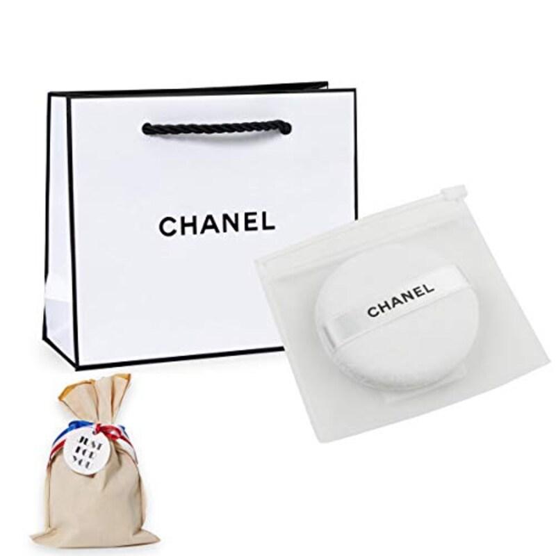 CHANEL シャネル ,プードゥル ユニヴェルセル リーブル パウダーパフ,chanel-022-wp