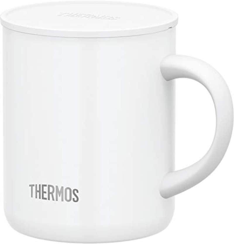 THERMOS(サーモス),真空断熱マグカップ ホワイト 350ml,JDG-350C WH