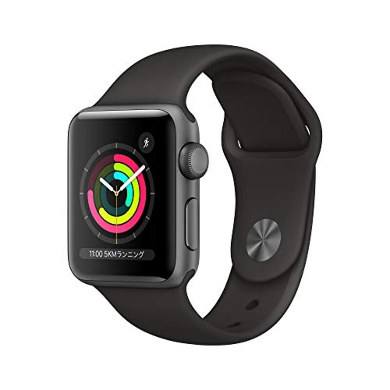 Apple,Apple Watch Series3 38mm スペースグレイ
