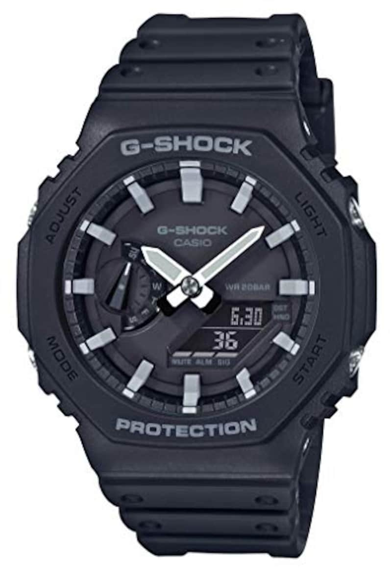 CASIO(カシオ),G-SHOCK(ジーショック) 腕時計 カーボンコアガード,GA-2100-1AJF