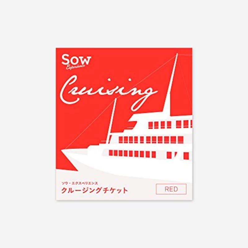 SOW EXPERIENCE(ソウ・エクスペリエンス),体験型カタログギフト クルージングチケット RED