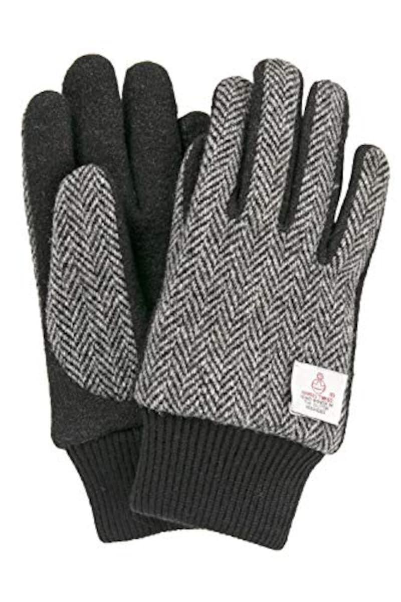 ハリスツイード,ハリスツイード 手袋 タッチパネル対応